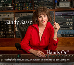 Hands on: The new CD from Sandy Sasso